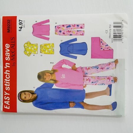 McCall Pattern Easy Stitch 'n Save Girls' Combo Pattern, 1 Each