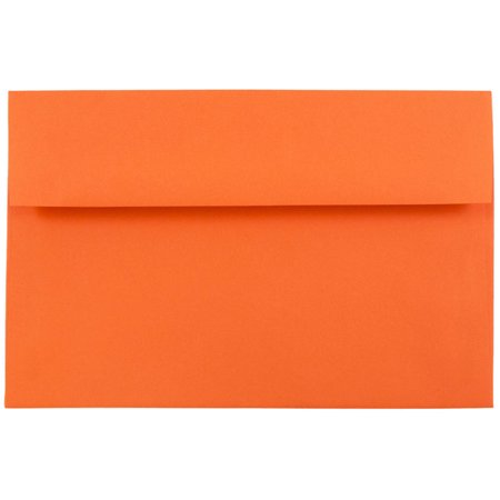 jam paper a8 invitation envelope 5 1 2 x 8 1 8 recycled brite hue
