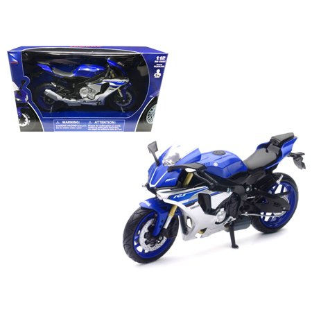R1 Models - 2016 Yamaha YZF-R1 Blue Motorcycle Model  1/12 by New Ray