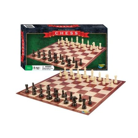 Family Traditions Chess - Board Game by Continuum Games (1603) Chess Store White Onyx