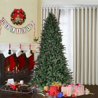 efc578ede3f Product Image Costway 6FT 7FT 8FT Artificial PVC Christmas Tree  1388 1918 2528 Tips