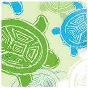 Bumkins Stuff It Cloth Diaper with 2 Minky Inserts, Green Turtle
