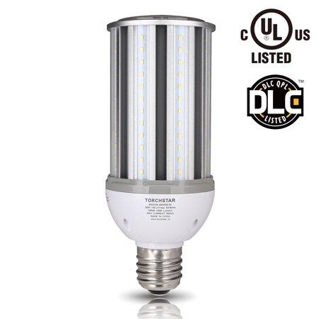 TORCHSTAR 36W LED Corn Light Bulbs for Indoor Large Area, E39 Base, Super Bright for Street Lamp, Garage, Post Lighting, Barn, Porch, 5000K Daylight