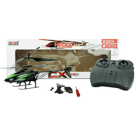 3.5 CH RC Helcopter, Black w/ -
