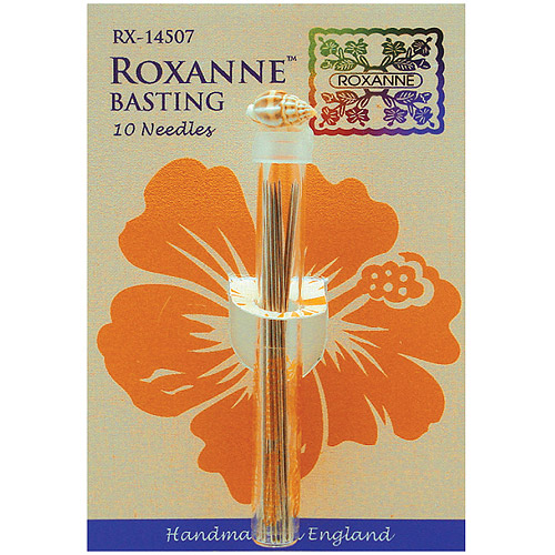Colonial Needle Roxanne Basting Hand Needles, 10/pkg