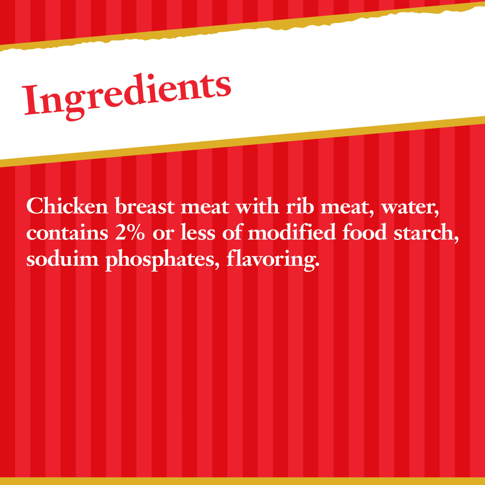 Hormel Premium No Salt Added Canned Chunk Chicken Breast in Water, 5 oz