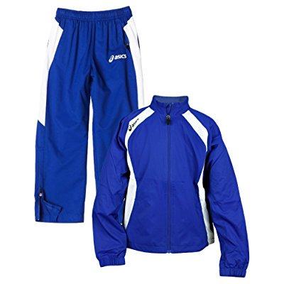 ec93d62e51d98 ASICS - Asics Youth Caldera Warm Up Jacket And Pants Set - Walmart.com
