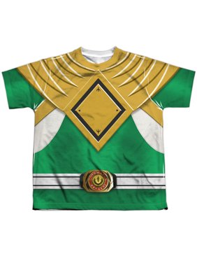 Power Rangers - Green Ranger - Youth Short Sleeve Shirt - Medium