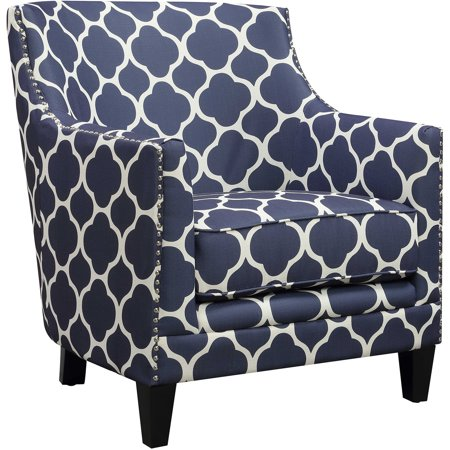 Outstanding Cambridge Nissi Accent Chair In Navy Creativecarmelina Interior Chair Design Creativecarmelinacom