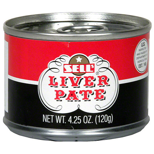 Sells Liver Pate, 4.25 oz (Pack of 12)