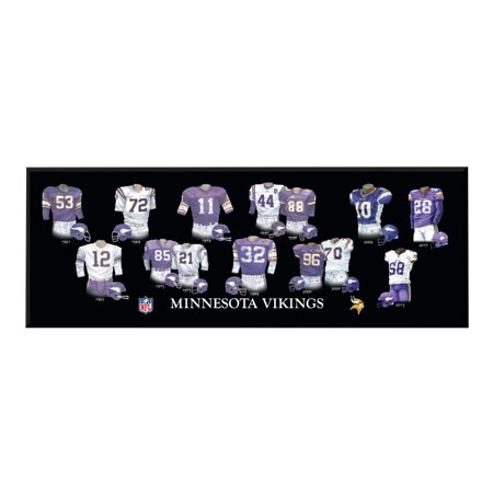 Winning Streak - NFL Uniform Plaque, Minnesota Vikings - Minnesota Vikings Halloween Stencils