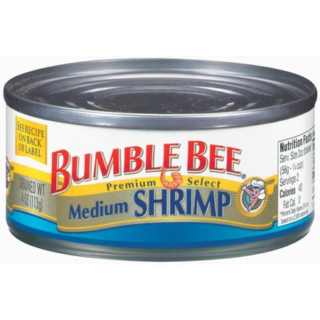 Bumble Bee Medium Shrimp, 4 oz