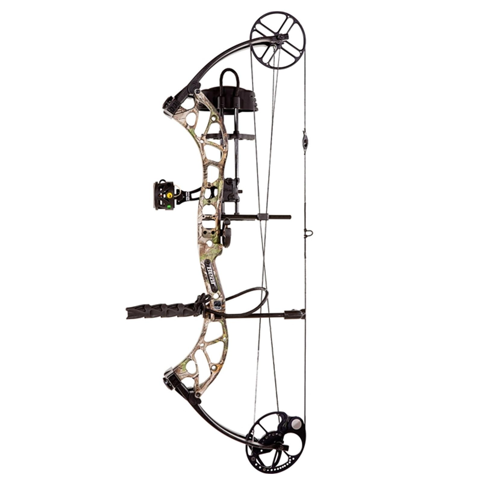 "Bear Archery Wild 24""-31"" Compound Bow Package RH 60-70 lb Realtree, A6WD11007R"