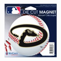 "Arizona Diamondbacks WinCraft 5"" Die-Cut Car Magnet"