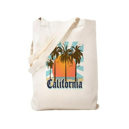 3d0c4c62bb7 CafePress - Vintage California - Natural Canvas Tote Bag, Cloth Shopping Bag
