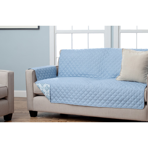 Home Fashion Designs Adalyn Scroll Reversible Sofa Furniture Protector