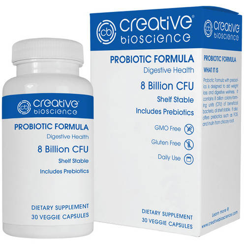 Creative Bioscience Probiotic Formula Dietary Supplement, 30 count