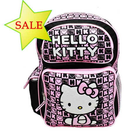 Backpack - - Black Box Checker (Large School Bag) New 82358
