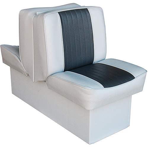 Wise Back-to-Back Boat Lounge Seat, Grey-Charcoal