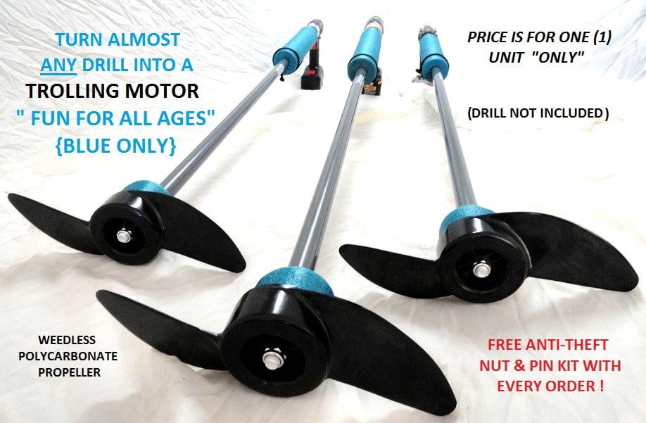 Drill Paddle - Handheld Trolling Motor By Idea'z LLC - Walmart.com