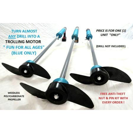 Drill Paddle - Handheld Trolling Motor