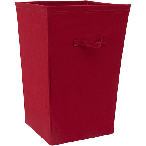Mainstays Hamper-Red Sedona