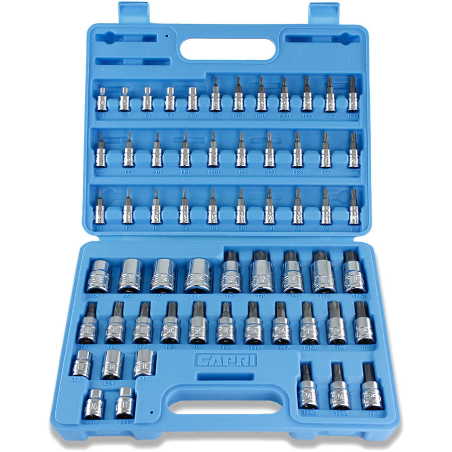 Capri Tools 30031 Master Torx Star Socket Set, 60-Piece