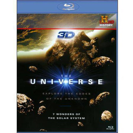 The Universe  7 Wonders Of The Solar System  3D   Blu Ray