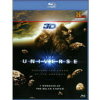 The Universe: 7 Wonders Of The Solar System (3D   Blu-ray)