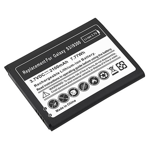 Insten Li-ion Battery For Samsung Galaxy S III i9300 S3 (Replacement backup battery pack)