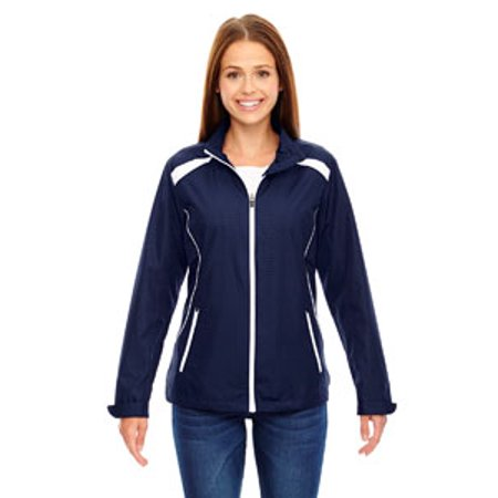 North Face Women Apex Bionic Jacket (Ash City - North End Ladies' Tempo Lightweight Recycled Polyester Jacket with Embossed Print)