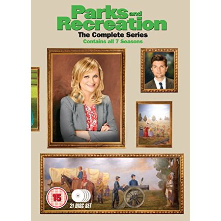 Parks and Recreation (Complete Series 1-7) - 21-DVD Box Set ( Parks & Recreation - Series One to Seven (125 Episodes) ) [ NON-USA FORMAT, PAL, Reg.2 Import - United Kingdom ]