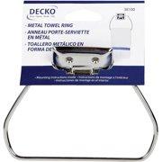 Decko 38100 Basics Metal Towel Ring