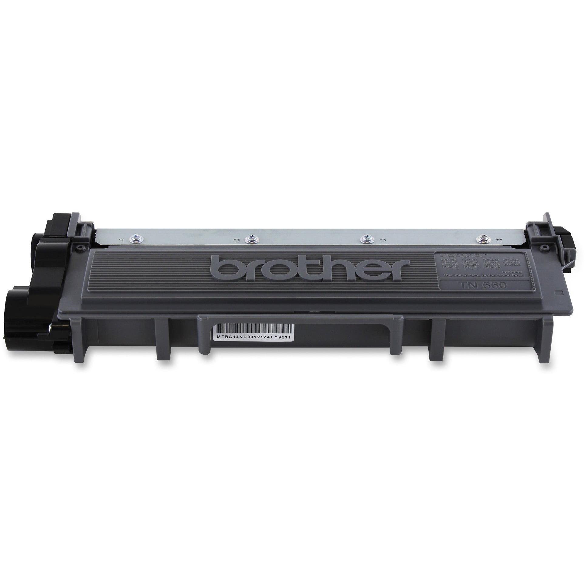 Brother Genuine TN660 High-Yield Toner Cartridge, Black