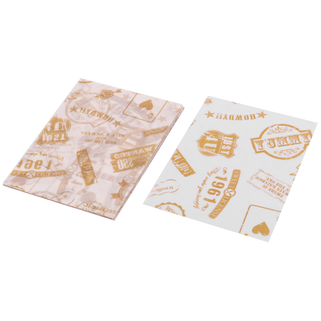 Store Cookies Sugar Chocolate Holder DIY Packaging Wrapping Paper 100 Pcs