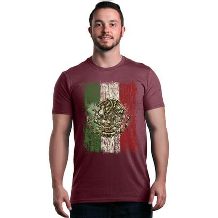 Shop4Ever Men's Flag of Mexico Mexican Cinco de Mayo Graphic -