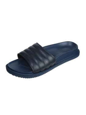 3fc4eb731bb Product Image Mens Open Toe Flip Flop Beach Slide Slipper with Strong Sole  and Rippled Overfoot (11