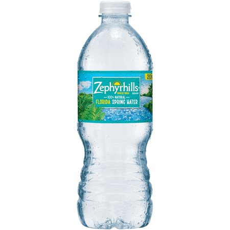 Zephyrhills Natural Spring Water 20 fl. oz. Plastic Bottle