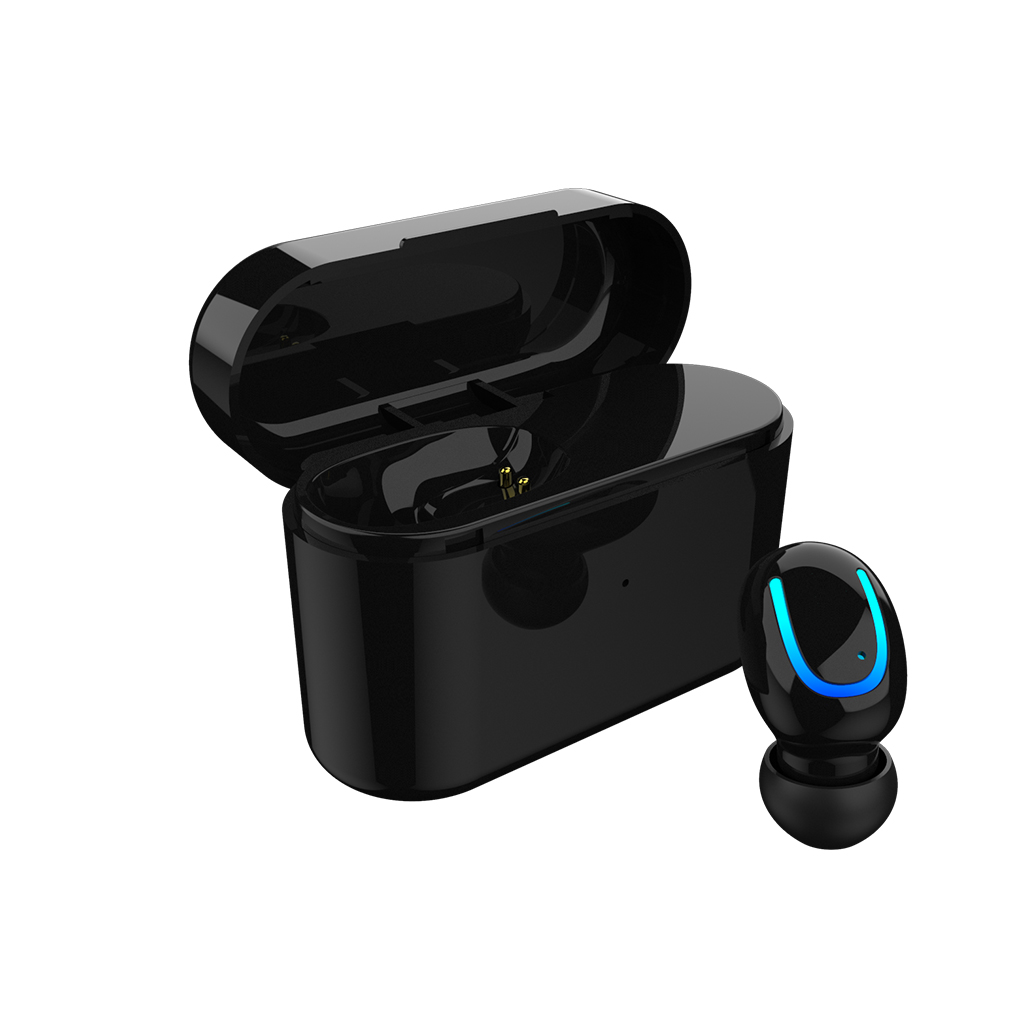Bluetooth V5.0. True Wireless Bluetooth Earbud Headphones HD Sound, In-ear Comfortable & Secure Fit, Sweatproof, Long Lasting Battery, Perfect Bluetooth for Android & IOS