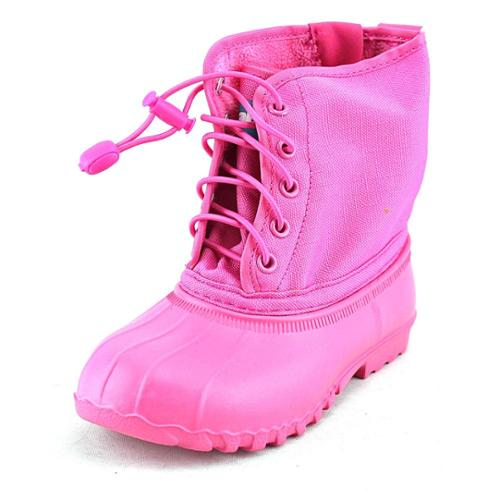 Native Jimmy Child Toddler US 10 Pink Snow Boot
