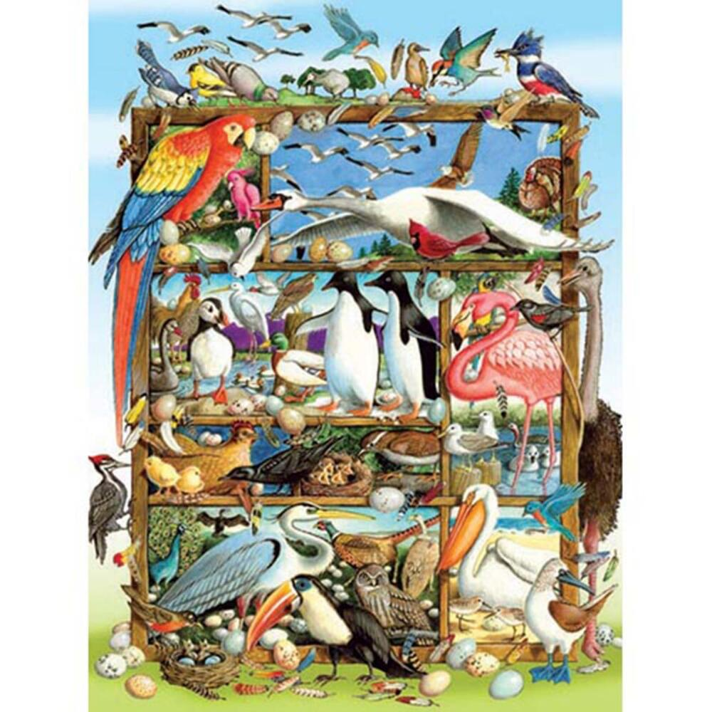 Cobble Hill Birds of the World Jigsaw Puzzle
