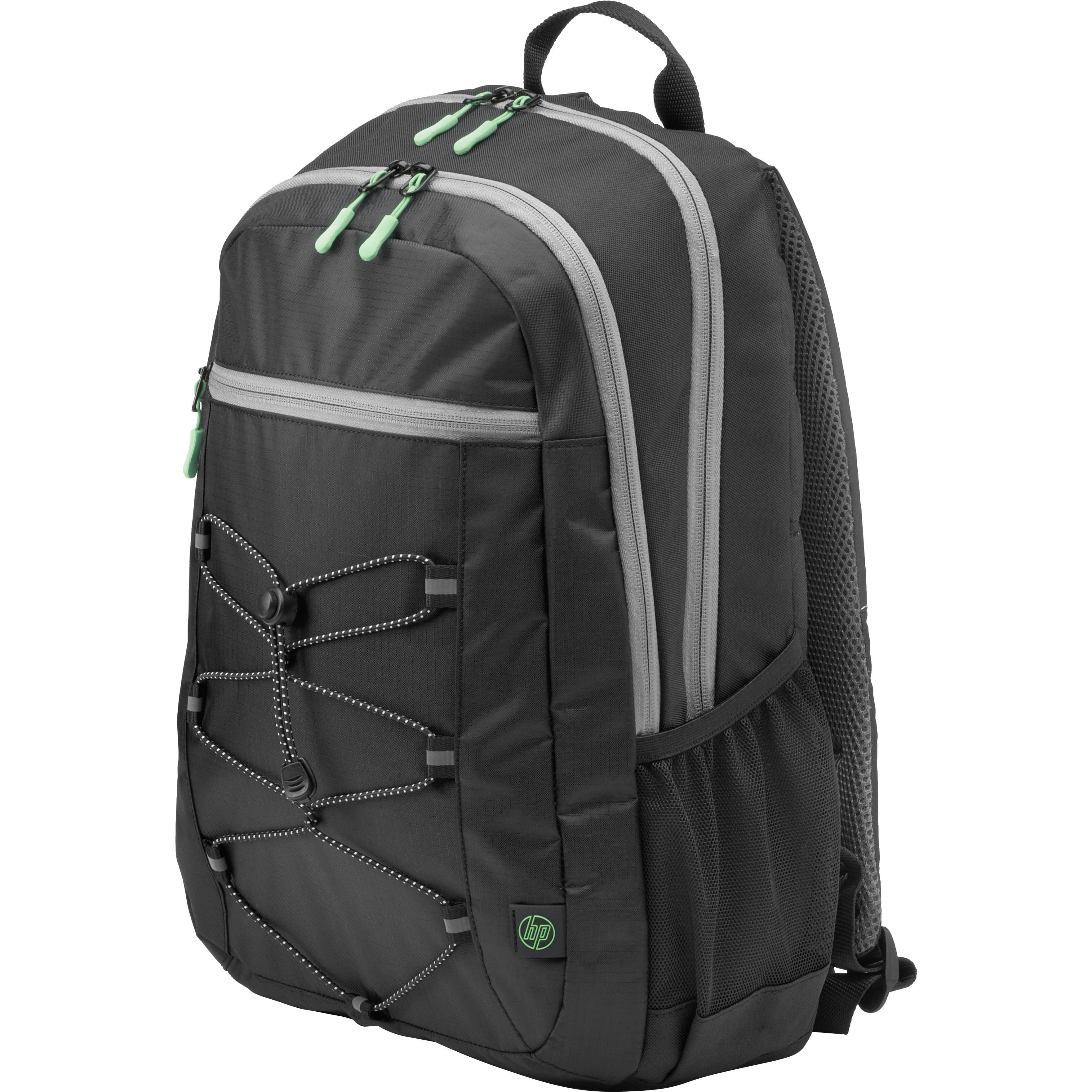 "(15.6"") Active Backpack (Black/Mint Green)"