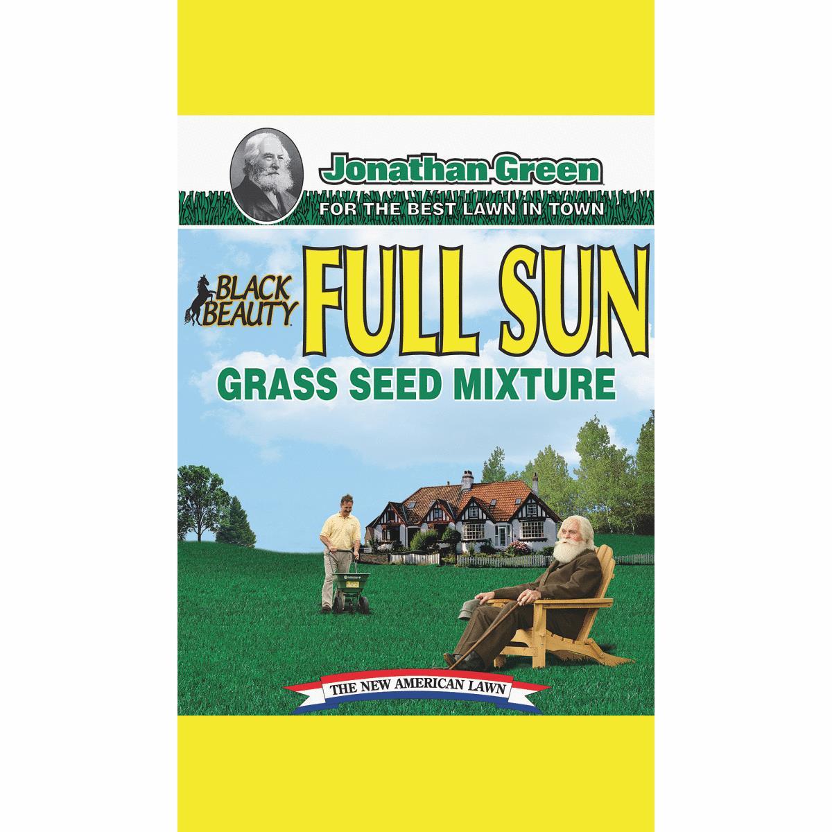 Jonathan Green Black Beauty Full Sun Grass Seed Mixture