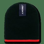 f52065e880bb5 Decky Single Striped Two Tone Beanies Beany For Men Women Knitted Ski Skull  Caps Hats Warm