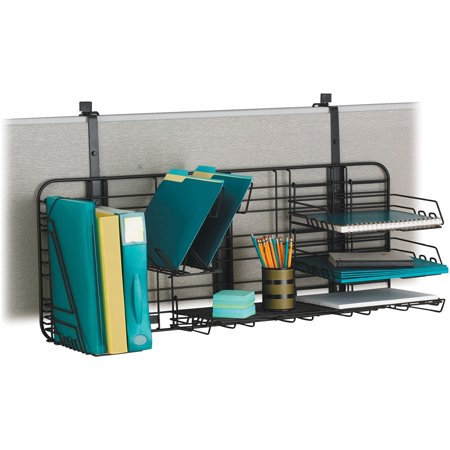 Safco, SAF4100CH, Gridworks Compact Organizing System, 1 Each, Charcoal,Charcoal Gray