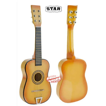 Star Kids Acoustic Toy Guitar 23 Inches Color Orange