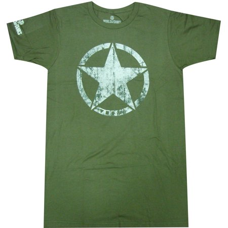 World Of Tanks American Sigil Adult Premium T Shirt