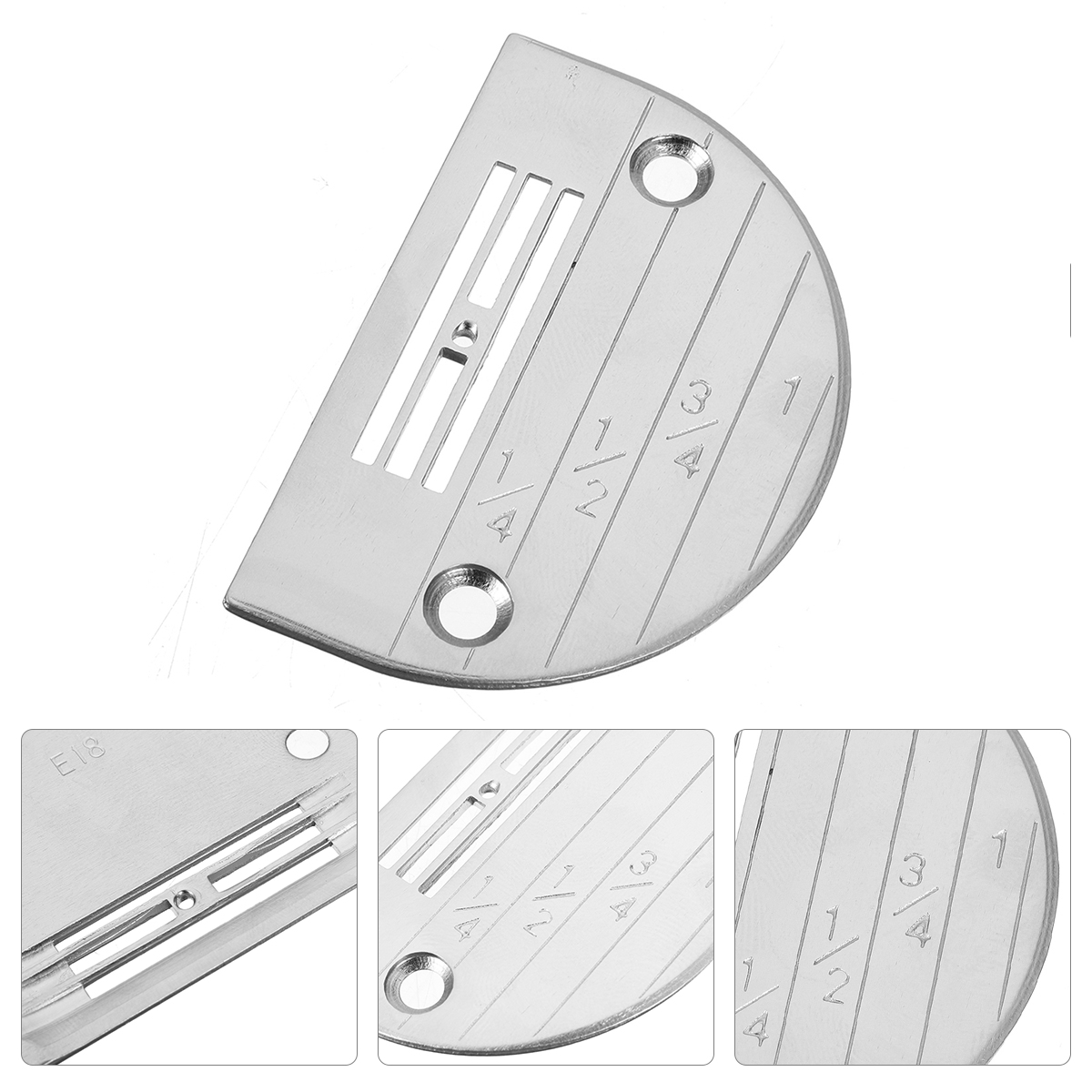 INDUSTRIAL SEWING MACHINE NEEDLE PLATE E18 FOR JUKI BROTHER CONSEW #147150 !