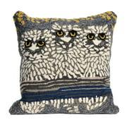 Liora Manne Frontporch Owls Indoor/Outdoor Pillow