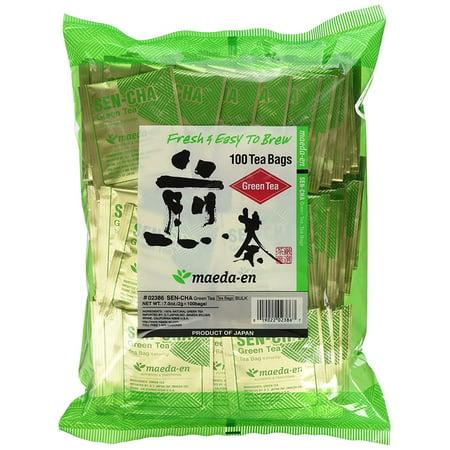 Maeda-En Japanese Sencha Green Tea, 100 Tea Bags
